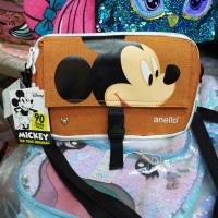 TAS SLEMPANG ANELLO MICKEY MOUSE TAS SIMPLE MINIMALIS CANTIK