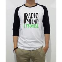 Kaos Distro Baju Tshirt Radiohead