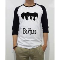 Kaos Distro Baju Tshirt The Beatles