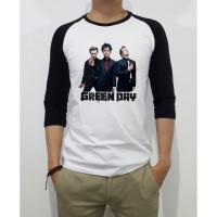 Kaos Distro Baju Tshirt Green day GDY012