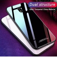 Case Glass Xiaomi Redmi 8A Soft Hard Back Cover Tempered Mirror