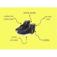 Sepatu boot wanita Ins boot Heels Inverness boots Shoes Baru Fashion