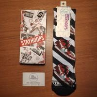 Stay Hoops Jordan Offwhite Socks