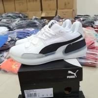 Sepatu Basket 🔥 Puma Clyde Hardwood White Black