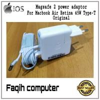 Charger MacBook Air 2012 2013 2014 2015 2016 2017 Magsafe 2 45 Watt