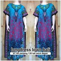 longdress lowo bali - baju jumbo wanita