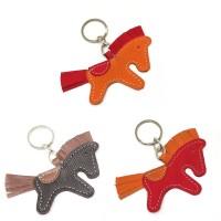 gantungan kunci kulit pony original lopolo asli kulit sapi keychain