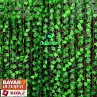 Daun Rambat Anggur Daun Palsu Daun Plastik Dekorasi Taman