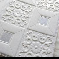 wallpaper foam stiker batik classic
