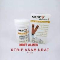 strip asam urat nesco / stik asam urat uric acid