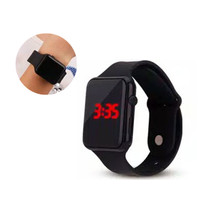 Jam Tangan Digital Pria Wanita Led Watch Digital Strap Rubber Sport