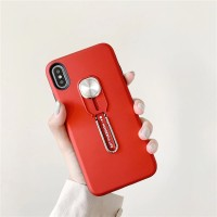 Vivo V9 - Pro Chic Beauty Silicone Ring Stand Shockproof Armor Case
