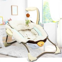 DT Baby Portable Cradle Bouncer Electric Swing Rocker Reclining