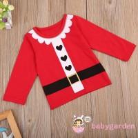 Kostum Cosplay Natal Santa Claus untuk Anak Laki-laki / Perempuan