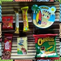 Hot Souvenir Hadiah Bingkisan Ulang Tahun Anak Snack Tempat Makan