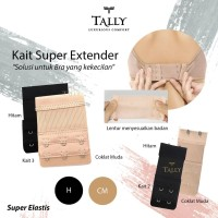 Bra Extender Super - Sambungan Kaitan Bra Tally - Kait 2 dan Kait 3