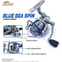 reel pancing daido blue sea spin 4000 power handle murah semarang