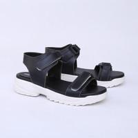 Sepatu Platform 5 cm Hitam Casual Real Pict Branded Catenzo DO 066