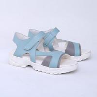 Sepatu Platform 5 cm Biru Casual Real Pict Branded Catenzo DO 067