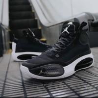 Nike Air Jordan 34 Black White Premium Original sepatu basket sneakers