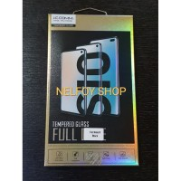 TEMPERED GLASS ANTI GORES SAMSUNG NOTE 8 BLACK DAN CLEAR FULL CURVED