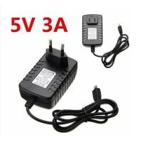 Adaptor Power Supply 5V 3A Micro USB untuk Raspberry Arduino