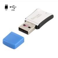 Adapter Card Reader Micro SD TF USB 2.0 Kecepatan Tinggi