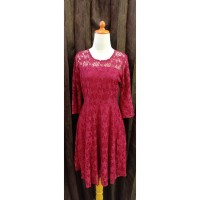 Dress Pesta Brukat Import Bangkok / Dress Pesta Mewah Brukat Warna