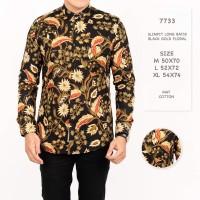 Kemeja Batik Pria / Batik Lengan Panjang Premium