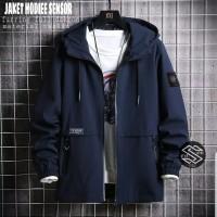 jaket hodie pria brand sensor original/jaket distro bahan taslan