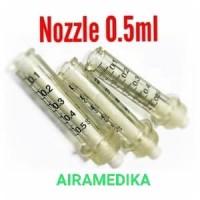 Nozzle 0,5 ml untuk Thesera/Rambo Pen/Comfort in/Cannon/Ans Jet 1