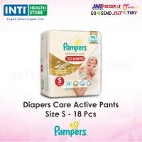 PAMPERS Premium Care Active Baby Pants S / Popok Bayi type celana