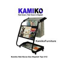 Rak Koran dan Majalah Kamiko Tipe 612