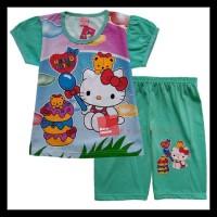 Baju Kaos Atasan T-Shirt Setelan Murah Anak Hello Kitty Hk092117 -