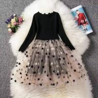 dress tutu princess/baju pesta anak perempuan