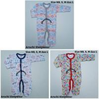 Piyama Bayi -) Aruchi Sleepwear Tutup Kaki Size NB, S, M & L