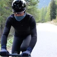 Jaket Sepeda Pedal Ed Fuji Team - Black
