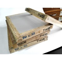 Screen T55 / T 55 (20x30cm) Sablon Manual untuk Cat Water Base