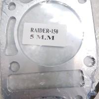 paking atau gasket cylinder blok satria fu f150 almunium tebal 5 mm
