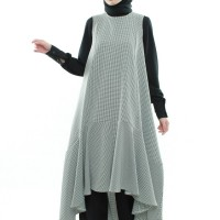 Small Chess Vest - #Markamarie, Baju Muslim, Modest Fashion