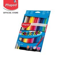 Maped Pensil Warna Color'Peps 24' - Cardboard