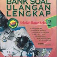 Buku Kitab Bank Soal Ulangan Lengkap Sekolah Dasar Kelas 2