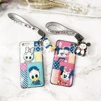 Terbaru Bluray Cartoon Mickey Mouse Donald Doll Band Casing Xiaomi