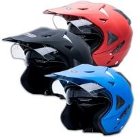 [Helm Dewasa] WTO Helmet Pro-Sight Cross - Polos