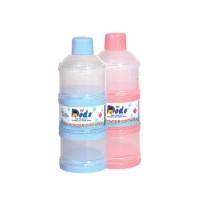 Dodo container susu 3 layer/tempat susu bubuk bayi/tempat susu susun 3