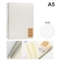 Grid Notebook A5 - 80 lembar / 160 halaman