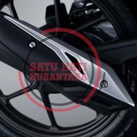 (New BeAT) Honda ORI Garnish Cover Muffler / Hiasan Tutup Knalpot