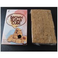 Organik Brown sugar cube Rendah Kalori 450g / gula merah organik 450g