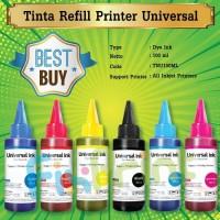 Tinta Refill 100ml printer HP Deskjet 2135 1115 1515 1510 1010 1000
