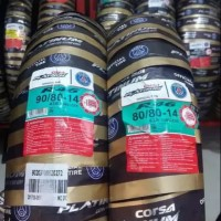 PAKET BAN MOTOR CORSA R46 90/80 & 80/80 RING 14 SOFT COMPON